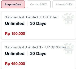 paket unlimited telkomsel tanpa FUP