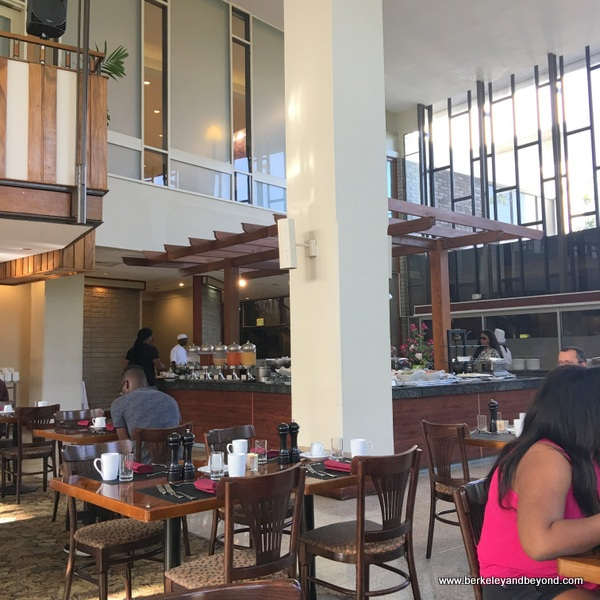 Terrace Garden restaurant at the Hilton Trinidad in Trinidad