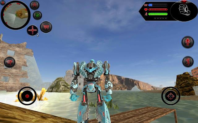 Robot Shark v2.6 Mod Apk