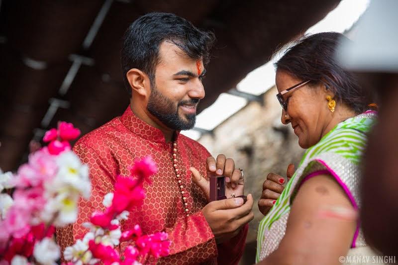 Deepanshu + Rashi = Ring Ceromony - Jaipur.