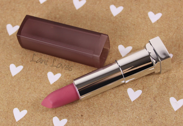 Maybelline Colorsensational Creamy Matte Lipsticks - Lust For Blush Swatches & Review