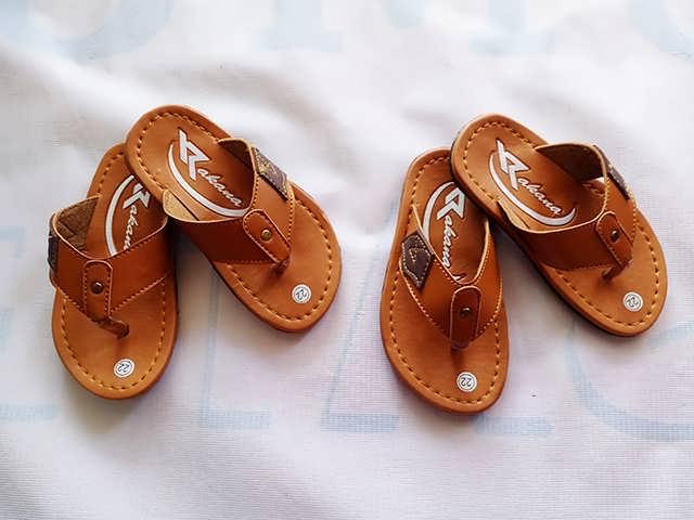 Produsen Sandal Kulit TERLENGKAP & TERMURAH -Rakana Baby