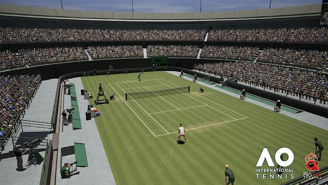 AO International Tennis muestra su editor de estadios