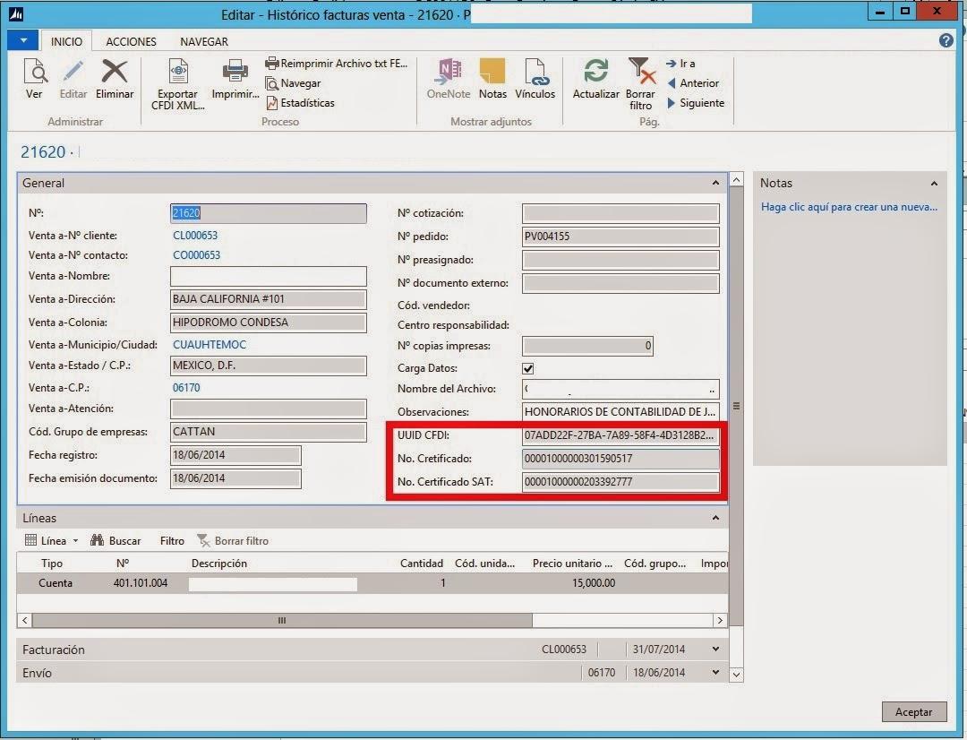 Dynamics NAV Contabilidad Electronica para NAVISION 4.0. 5.0 SP1. NAV 2009. RTC NAV 2013 R2