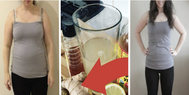 The Best Ginger and Lemon Mixture To Burn Belly Fats Fast And Reduce Weight