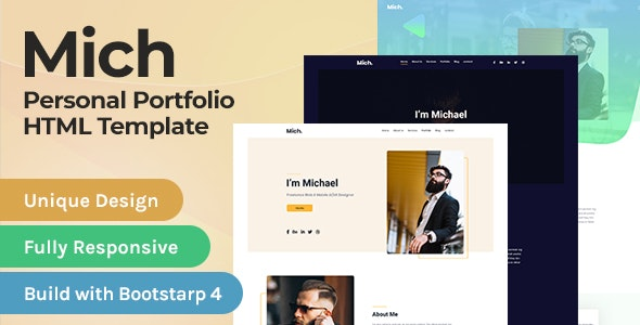Personal Portfolio / Resume Template