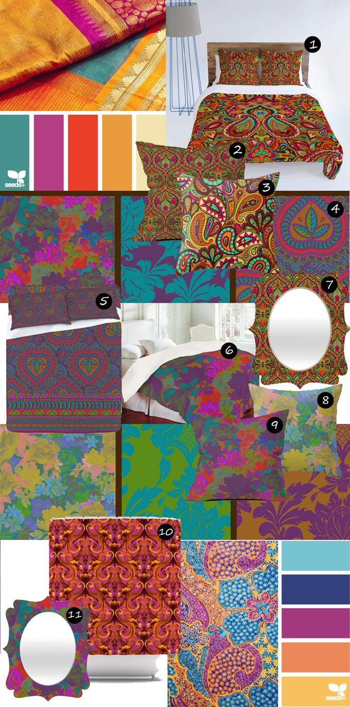 Virtual Living Room Set: Aimee's Blog: Textiles & Other Ramblings: 3 Different