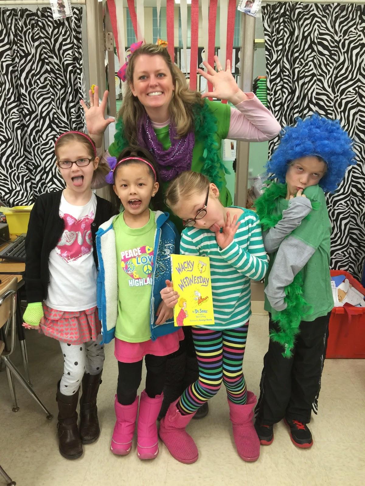 Day 3 Dr. Seuss 5 Day Freebie...Wacky Wednesday - First Grade Roars!