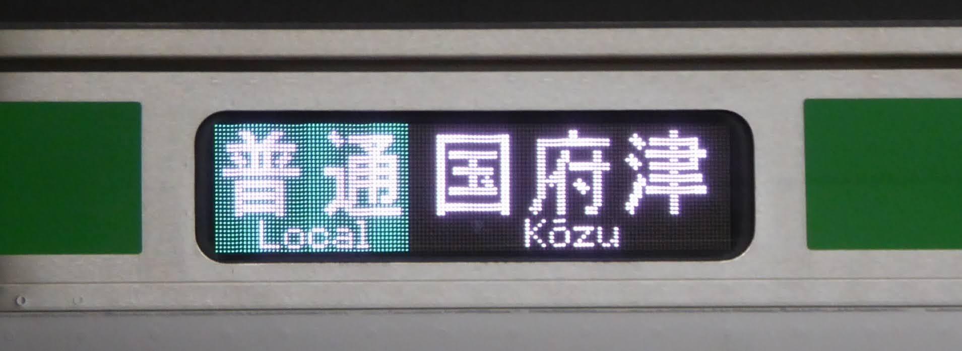 東海道線 快速アクティー 東京行き E233系