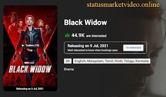 Black Widow Movie Download in Hindi 480p Filmyzilla ( 2020 )