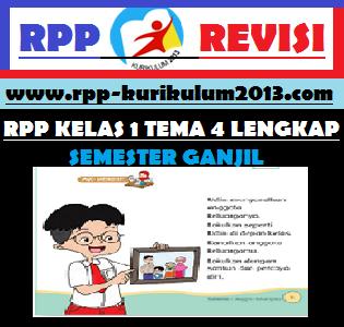 GAMBAR rpp kelas 1 tema 4 k13 revisi 2017
