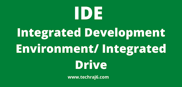 IDE full form, what is the full form of IDE
