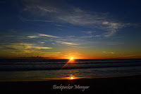 Sunset di Pantai Batu Belig Bali