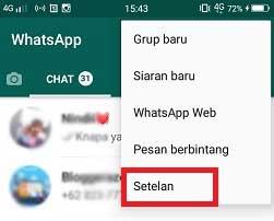Cara Membesarkan Huruf atau Tulisan di WA / Whatsapp