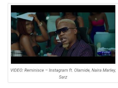 [Video] Reminisce ft Olamide x Naira Marley x Staz - Instagram