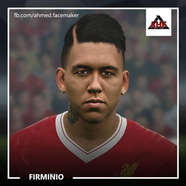 Roberto Firmino Face PES 2017