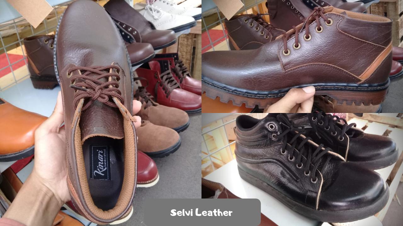 Salah satu produk UMKM dari Selvi Leather