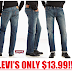 Levi's Men's 505 Regular Fit Jeans Only $13.99 + Free Shipping With Amazon Prime or $25 Order & Free Shipping Back on Returns