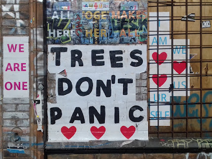 Trees don't panic * WE ARE ONE
