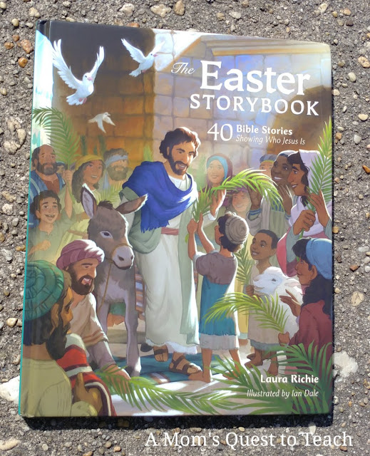 book cover of The Easter Storybook
