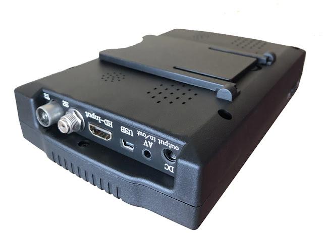 KPT-258S/T DVB-S2/T2/C Combo Satellite Finder 4.3inch LCD Screen HD Monitor With AV Input