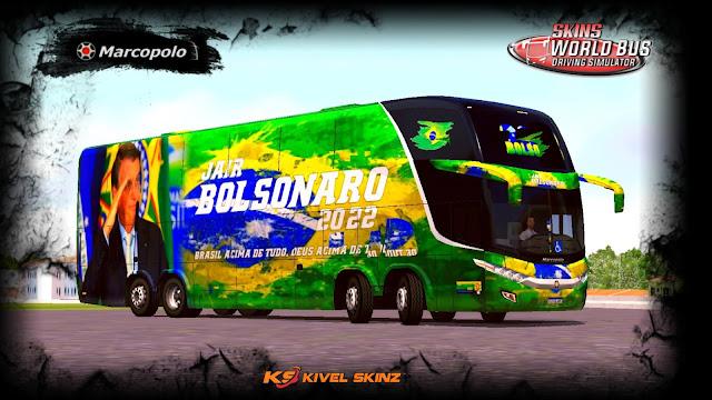 PARADISO G7 1800 DD 8X2 - BOLSONARO 2022