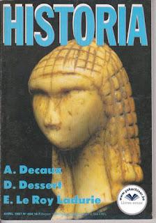 Revue Historia, 484 1987, E.Le Roy Ladurie