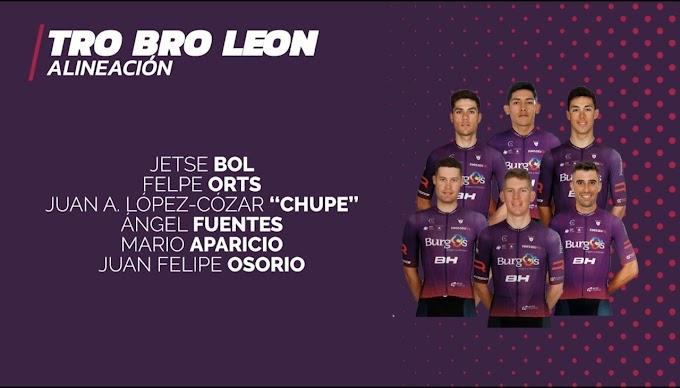 El Burgos BH competirá mañana en la Tro Bro León y en el Trofeo Alcudia