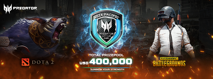 The Battle for the Shield Forges on: Asia Pacific Predator League 2020/21 set this April