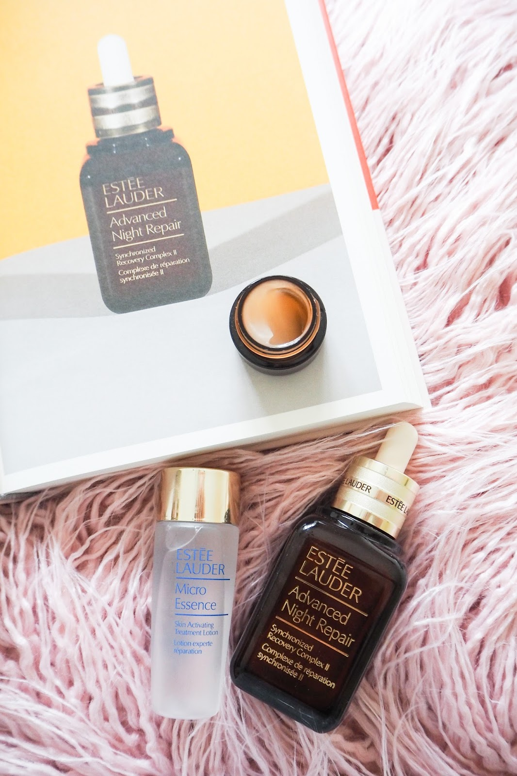 Estee Lauder Advanced Night Repair Serum and Eye Cream and Mirco Essence