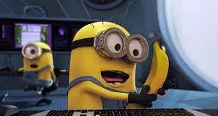 minion dan pisang