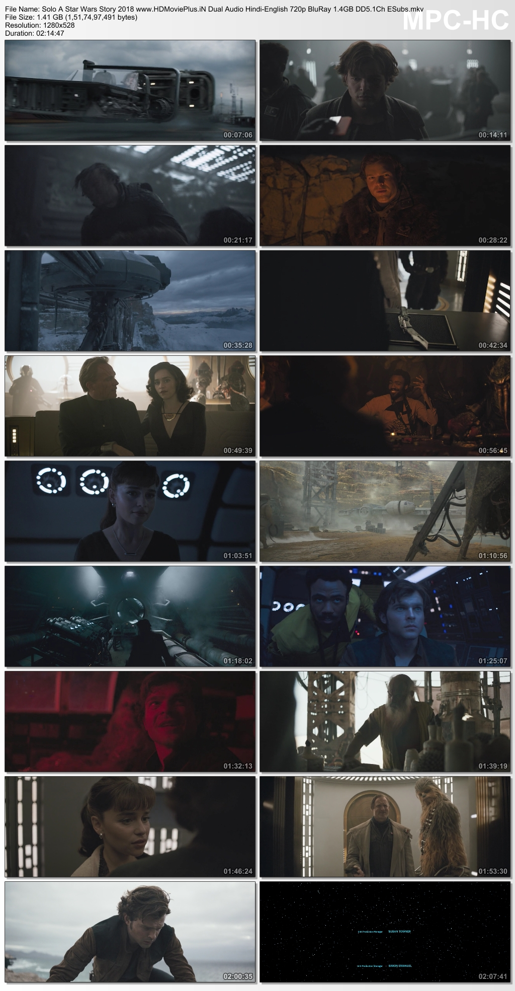 Solo: A Star Wars Story 2018 Dual Audio