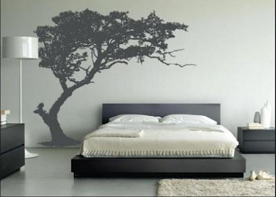 Inspirasi Desain Kamar Tidur  Dengan Nuansa Pepohonan Yang Adem Dan Asri 6