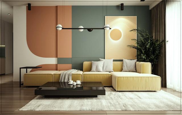 Thiết kế nội thất căn hộ - Masteri Millennium - Q.4 - TPHCM