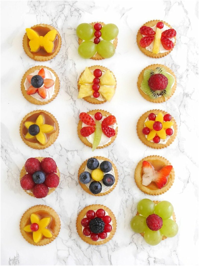 Bite-size Fruit Tarts Recipe