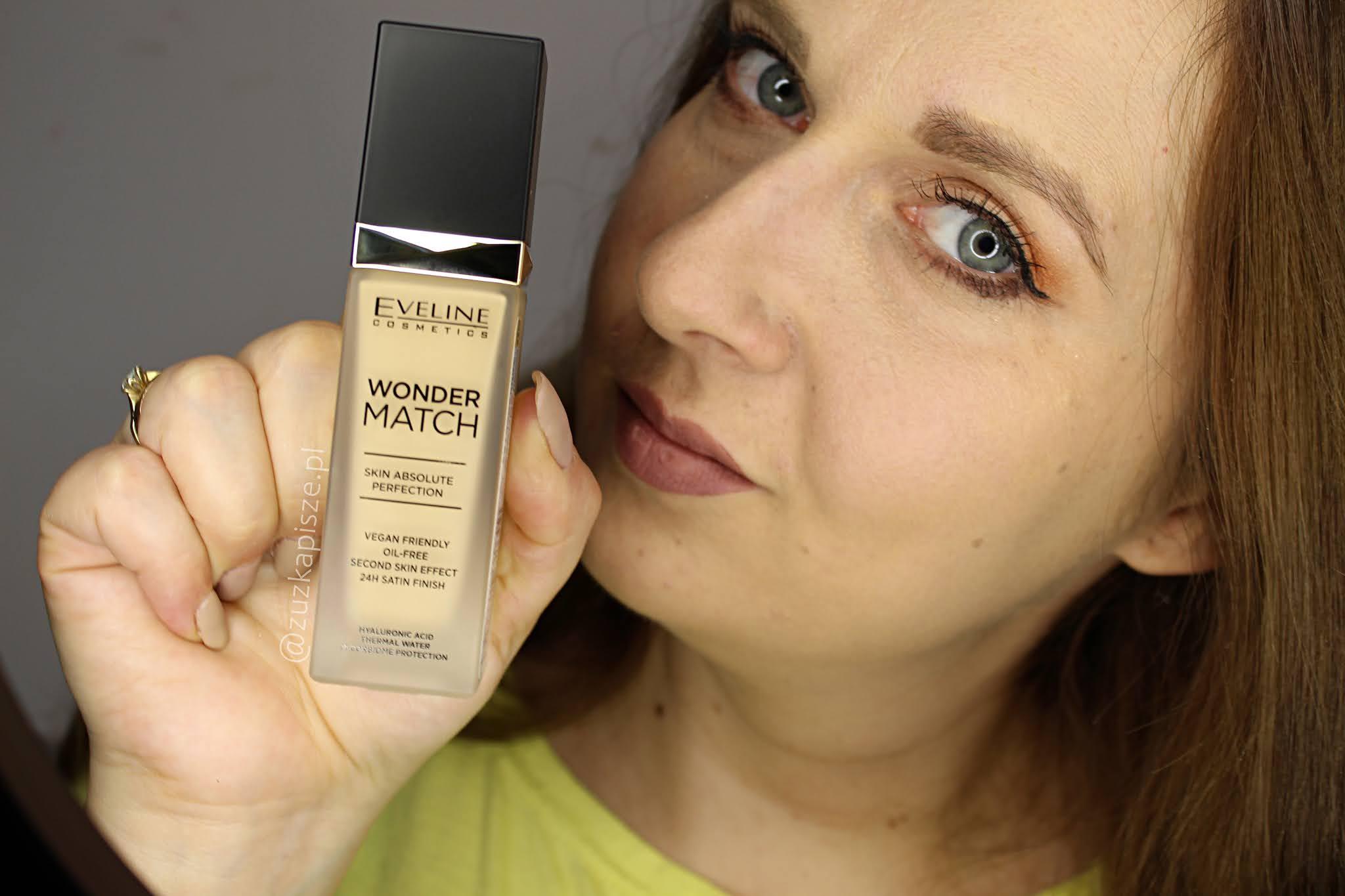 NOWOŚĆ! Eveline Wonder Match - Luksusowy podkład dopasowujący się do odcienia i struktury skóry