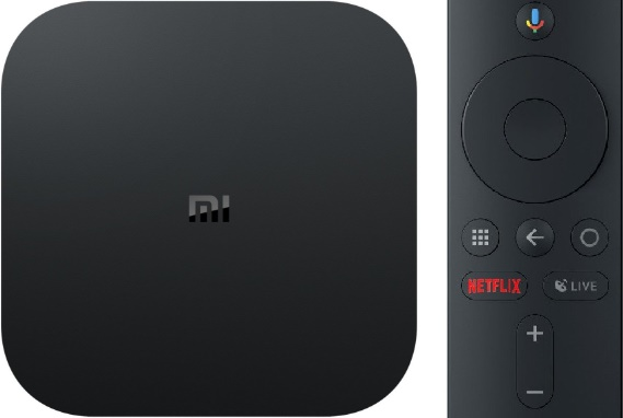 Mi Box S 4K Ultra HD Streaming Media Player Android TV Box