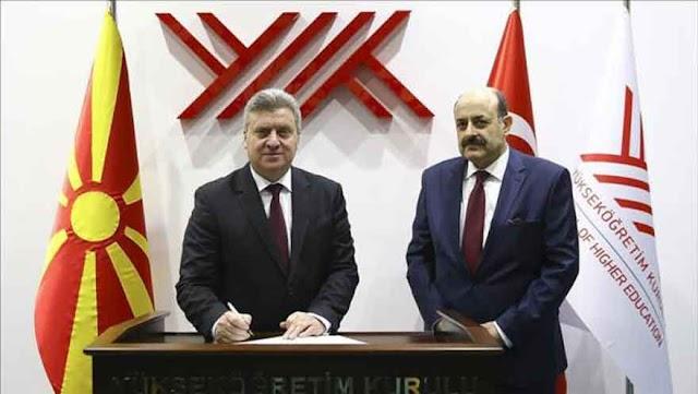 Lehrstuhl für mazedonische Sprache an Ankara Universität eröffnet