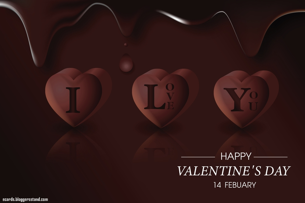 Happy Chocolate Day Wishes 2021, I love you messages