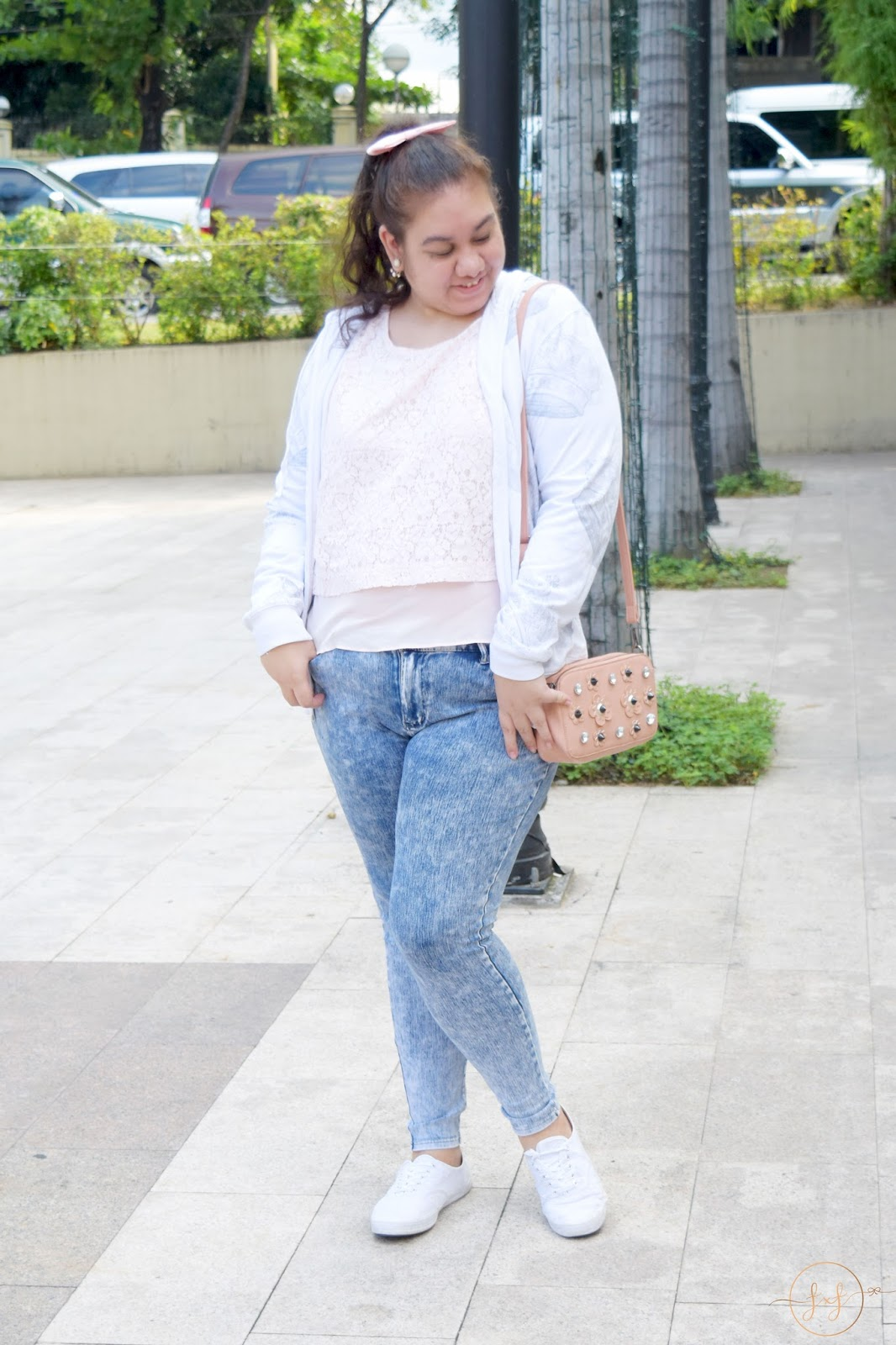 Blush Pink Casual Daytime Outfit | What I Wore