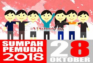 Gambar Kata-Kata Ucapan Sumpah Pemuda 28 Oktober