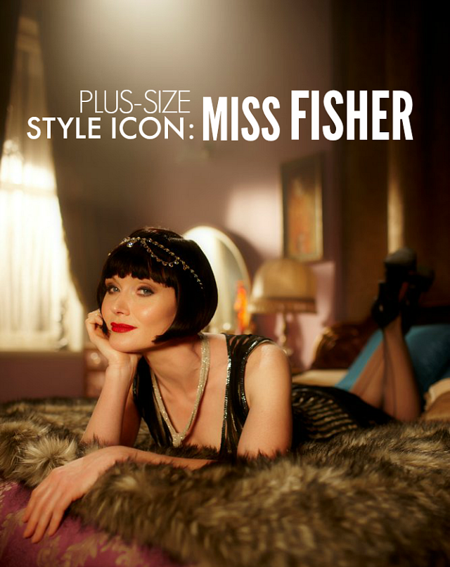 0f8b412e9df894 PLUS-SIZE STYLE ICON  MISS FISHER - The Militant Baker