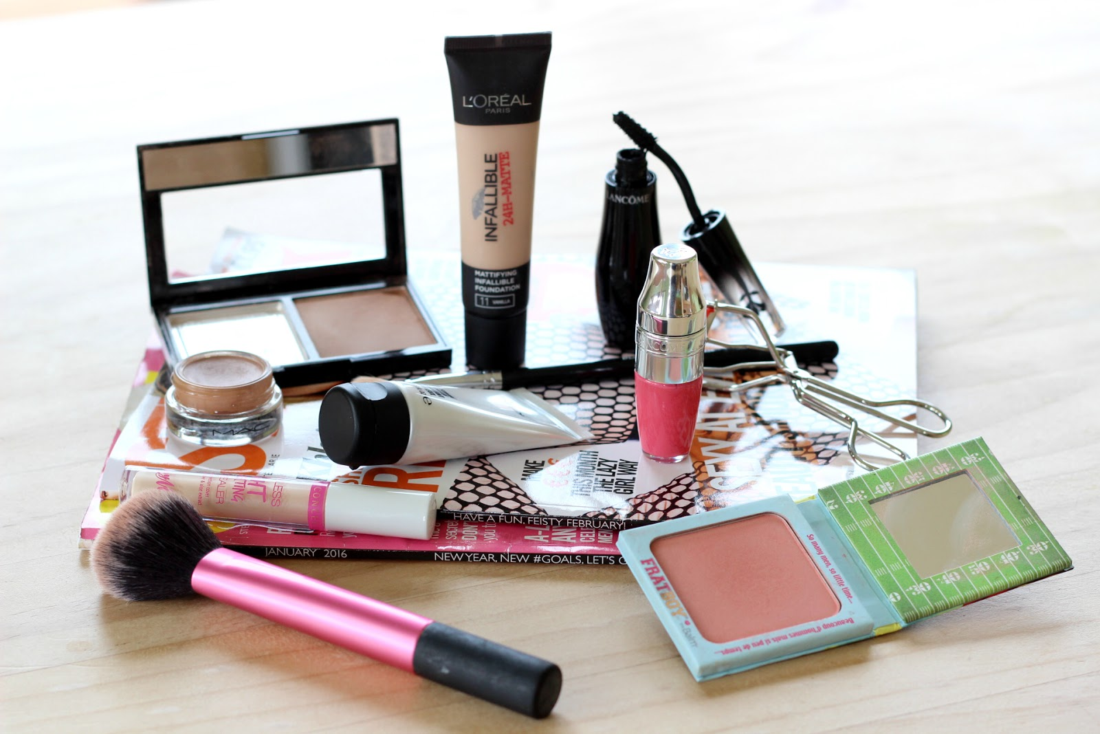 Makeup Bag Edit: March