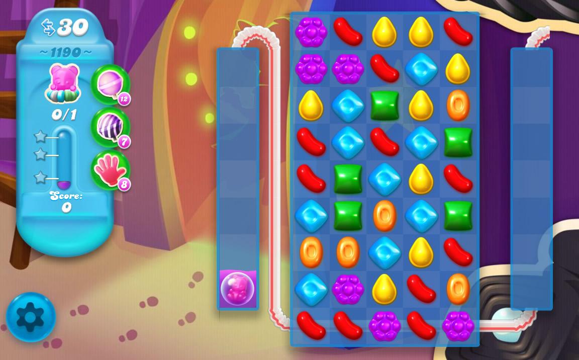 Candy Crush Soda Saga level 1190
