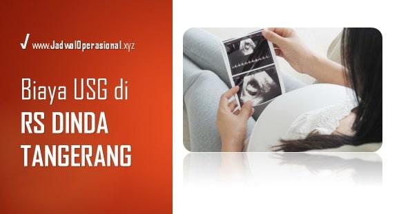 Biaya USG di RS Dinda Tangerang