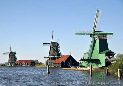 kincir angin belanda Zaanse Schans