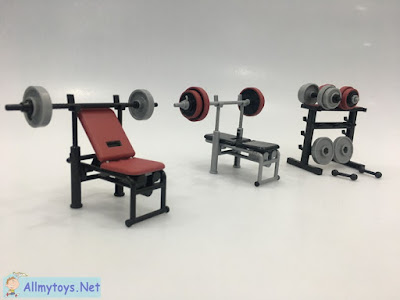Ghachapon Miniature Toy Gym Accessory 1