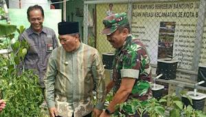 Pemkot Bandung Libatkan Sektor 22-CH Kembangkan Program Kampung Berkebun