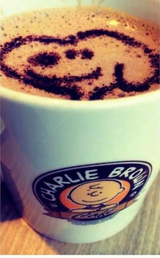 Snoopy's Cafe Latte