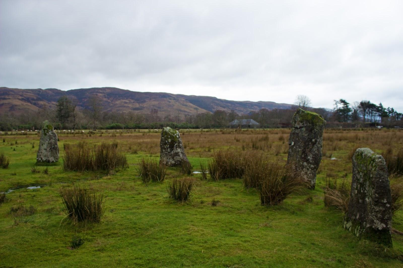 standing stones isle of mull scotland